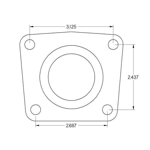 10/12 bolt with Ford 3.150 bearing (FLUSH BEARING)