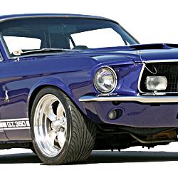 1965-1966 Mustang (Manual Steering V8)