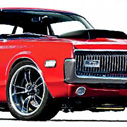 1970-1972 Cougar