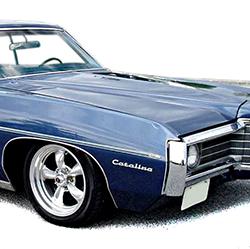1969-1970 Full Size Pontiac