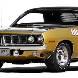 1970-1972 Plymouth Barracuda