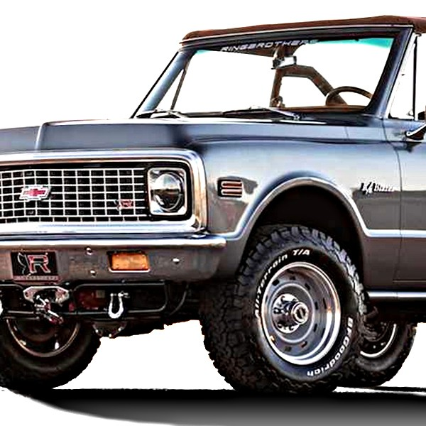 1971-1991 1/2 Ton K/V-Series (4wd) Pickup/SUV