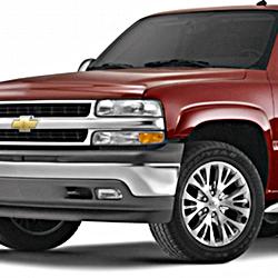 2000-02 Suburban/Yukon XL 1500 w/Single Piston Rear Caliper