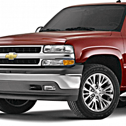 2000-02 Suburban/Yukon XL 1500 w/Dual Piston Rear Caliper