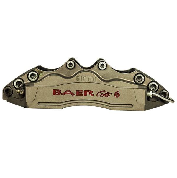 Alcon Billet 2pc 6 Piston Caliper Pads