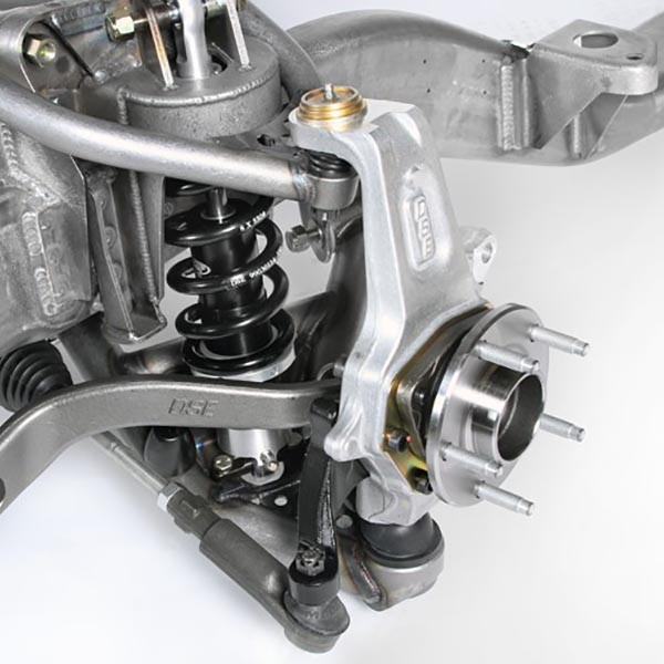 Vehicles with Detroit Speed Front Subframe