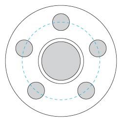 5x5 Bolt Circle