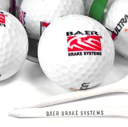 Baer Golf Balls (pack of 2) w/Baer Tee's