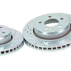 Rear Baer Sport Rotors & Pads