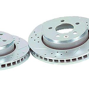 Front Baer Sport Rotors and Pads