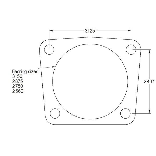 rear extreme big brake system gm 10 12 bolt 3 150 flush mount  12 bolt diagram #12