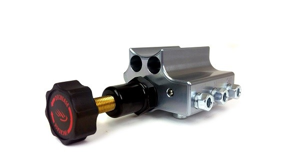 Remaster proportioning valve, Gray, Left port