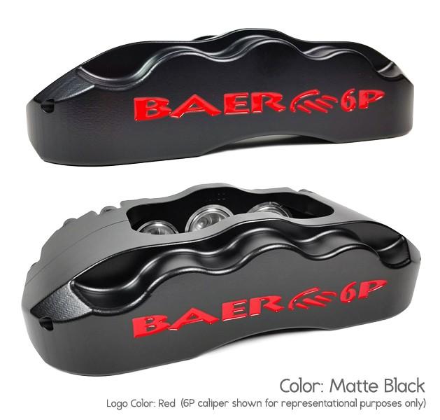 14 Front Pro+ Red 06-08 Pontiac G8 BAER BRAKES 4301366R-BKCZ Brake System 1 Pack