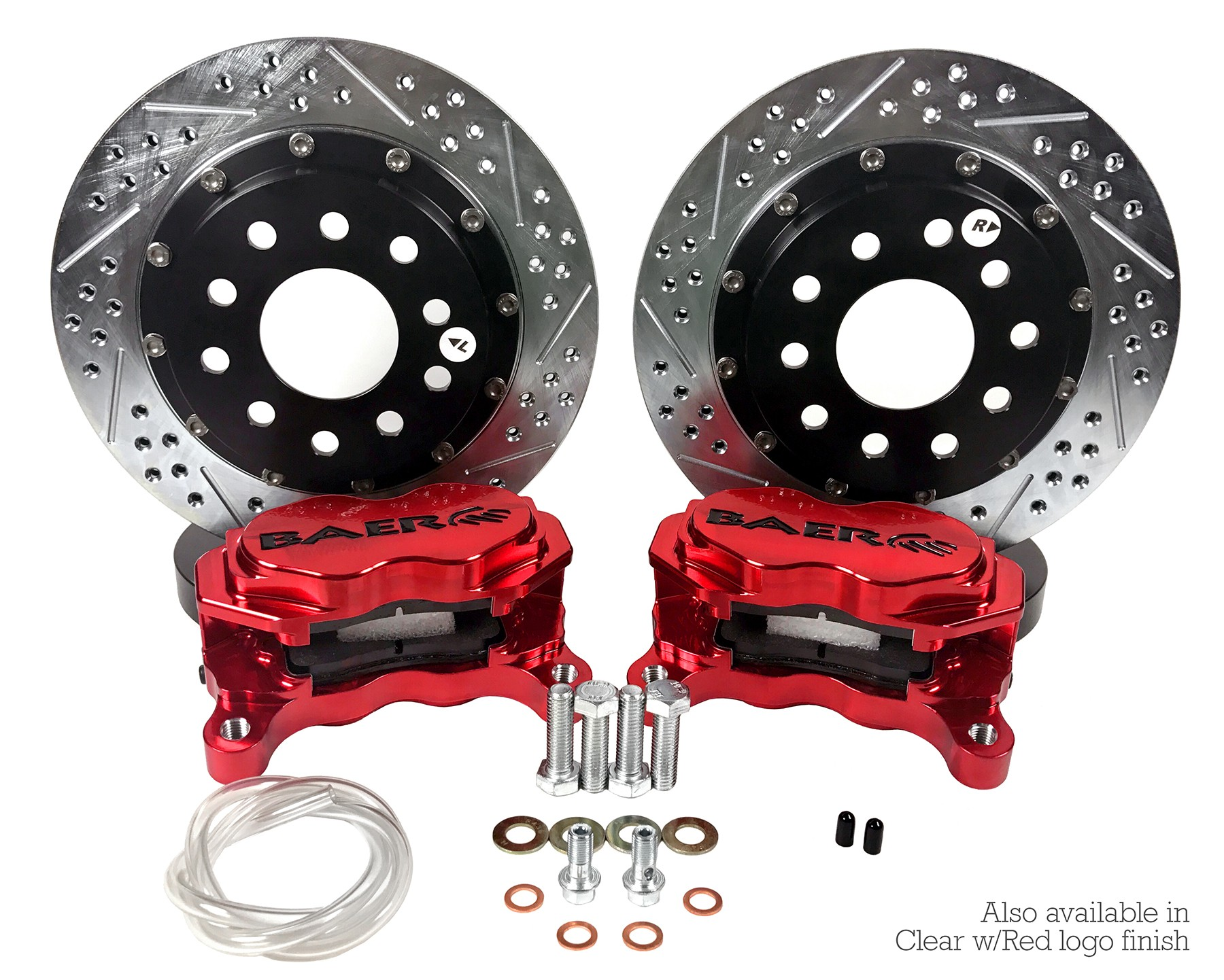 "11.62"" Front SS4+ Drag Race Brake System"
