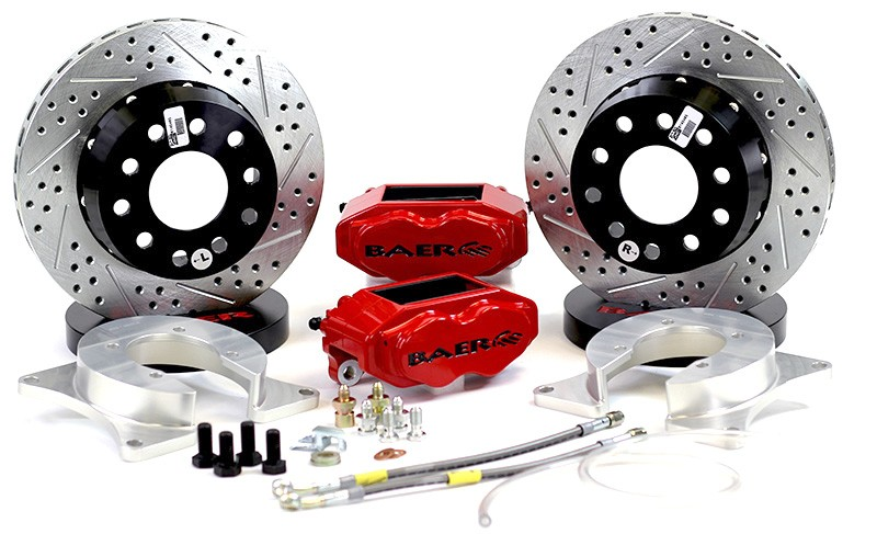 "11"" Rear SS4+ Brake System NO Park Brake"