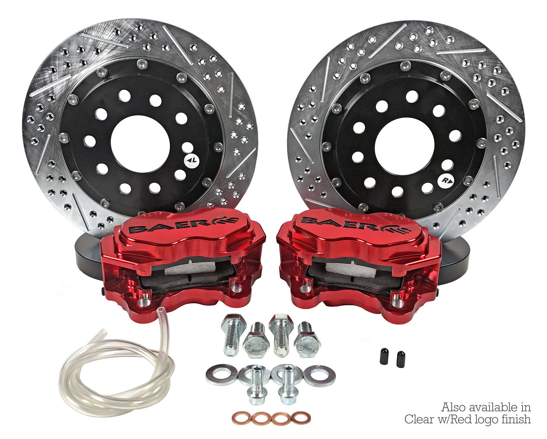 "11.62"" Rear SS4+ Drag Race Brake System"
