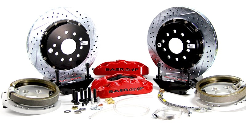 "14"" Rear Pro+ Brake System with Park Brake"