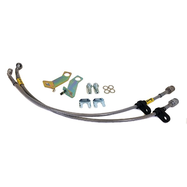 05-14 Mustang Front Steel Braided Hose Kit