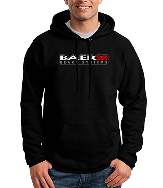 Black Baer Logo Hoodie