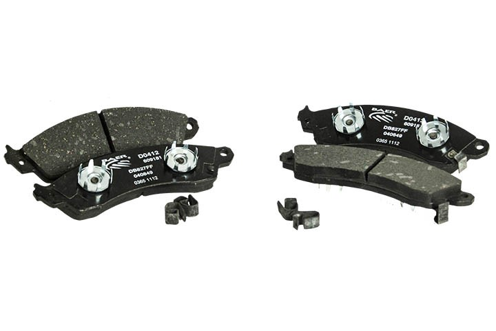 Baer/PBR 2 piston Pad Guided Caliper Replacement Pads