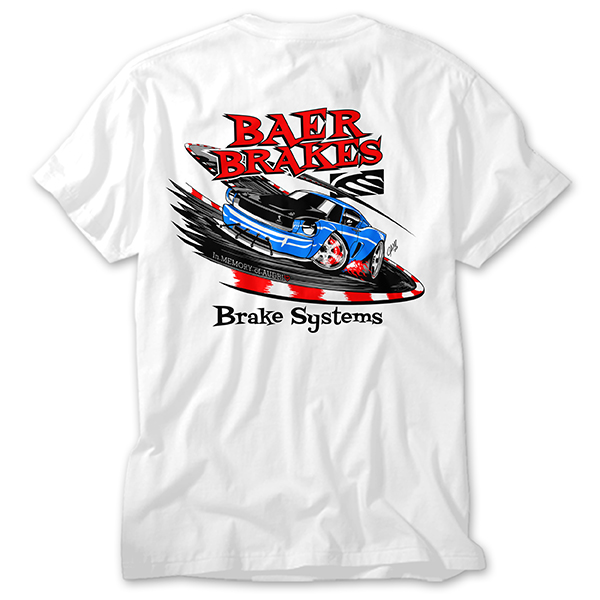 Premium Retro Baer Brakes Ed Cano / Audri Mustang shirt