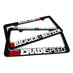 Baer License Plate Frame