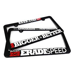 Baer License Plate Frame