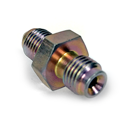 Adapter, 3/8-24 IF Male to -3AN Male