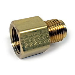 Reducer, 1/2-20 IF Male x 9/16-18 IF Female