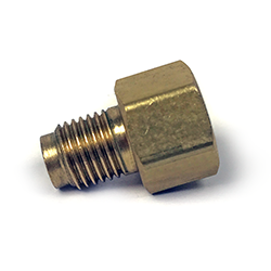 Adapter, 3/8-24 IF Male X 7/16-24 IF Female