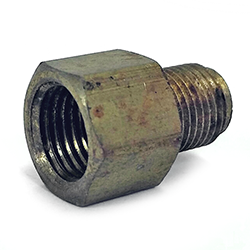 Reducer, 7/16-24 IF Male X 1/2-20 IF Female