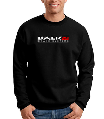 Hanes, Black, Baer Logo