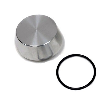 Replacement Billet Aluminum Dust Cap w/O-ring