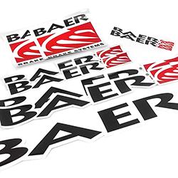 Baer Racing Decal Pack