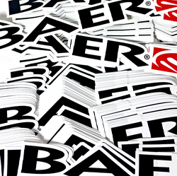 Small Baer Decal