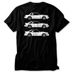 Fox Body Mustang Notch/Hatch/GT Shirt