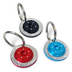 Baer Rotor Keychain 3 pack