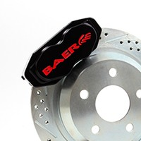 "12"" Rear SS4 Brake System with Park Brake"