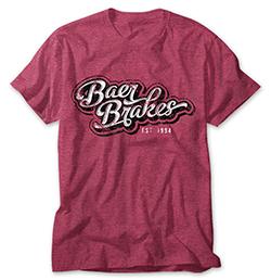 Premium Retro Vintage Baer Brakes Shirt - Red