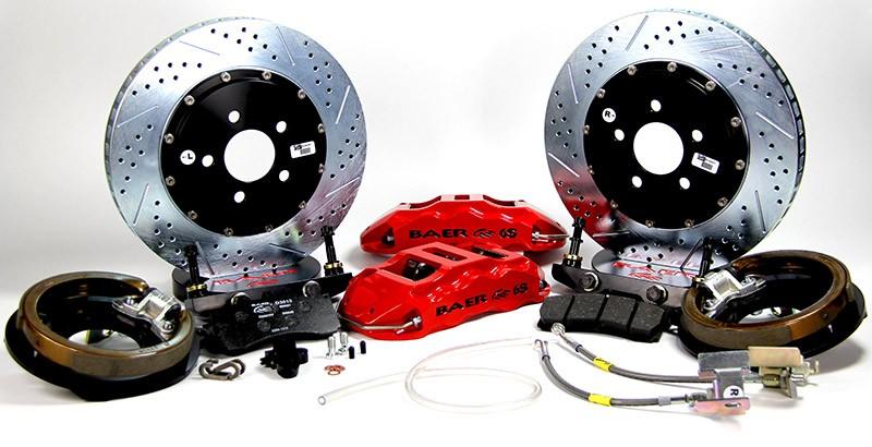 Rear Extreme+ Big Brake System Mopar Dana 60 4142044 - Baer