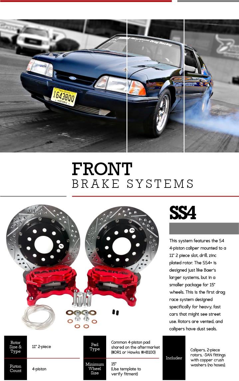 Drag Racing Brake System - Baer Brakes