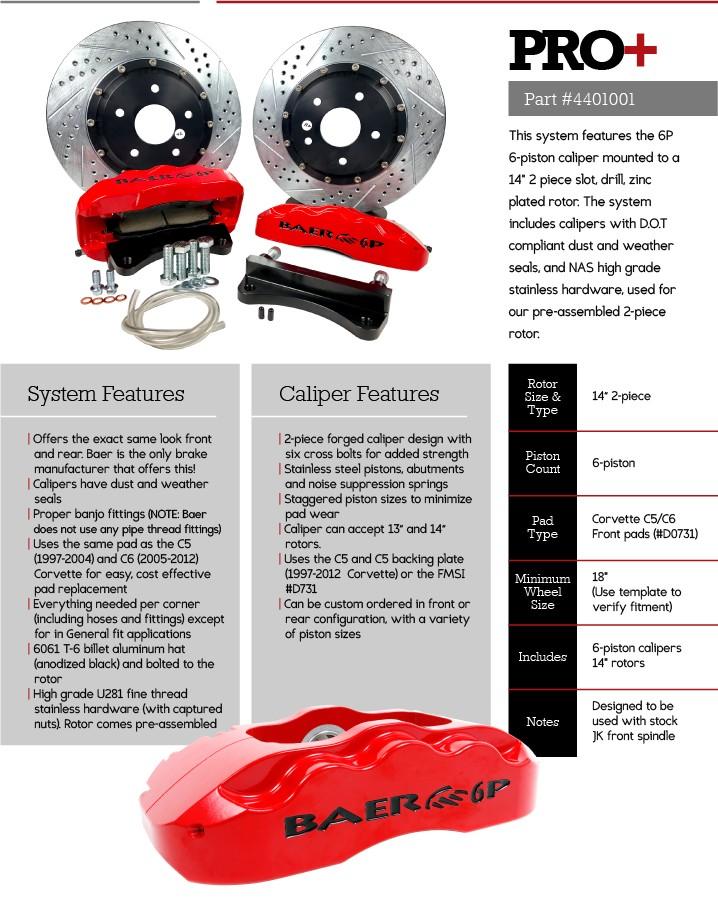 Brake Upgrades for Jeep JK - Baer Brakes