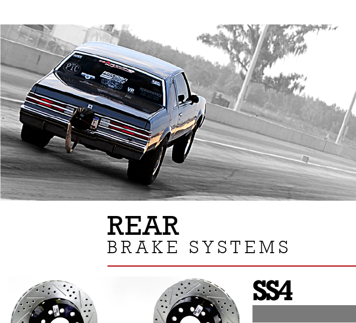 Deep Stage Drag Racing Brake System - Baer Brakes