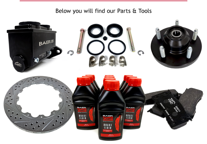 High Performance Parts and Components - Baer Brakes